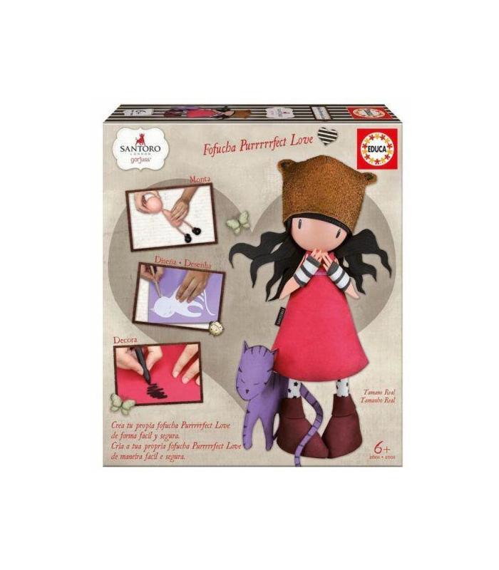 Doll Fofucha Gorjuss Purrfect Love Toy Store