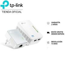 Pack repetidor WiFi TP-LINK TL-WPA4220, PLC, extensor, adaptador, AV 500Mbps, 3 puerto ethernet
