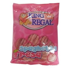 Spagghetti strawberry flavor, teabag 100g, King Regal