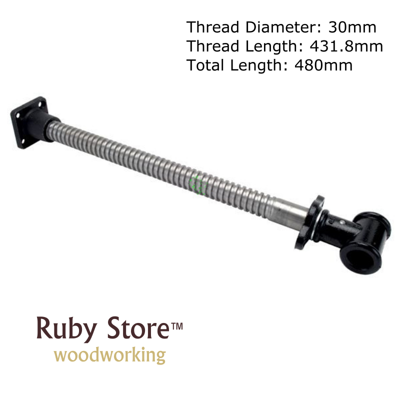 Bench Screw 30mm Diameter Long Type Woodworking Clamp for Woodworking Workbench Vise Press Clamp