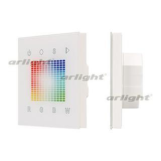 018277 panel sens sr-2831s-ac-rf-in White (220 V, RGB, 1 zones Arlight 1-piece