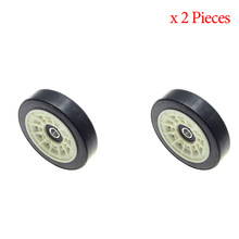 Tumble Dryer Rubber Wheel  Replacement For Beko & Blomberg & Grundig Tumble Dryer Rubber Wheel   2987300200   2 pieces