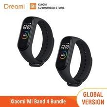 グローバルバージョンxiaomi miバンド 4 (ブランド新とオリジナル) band4