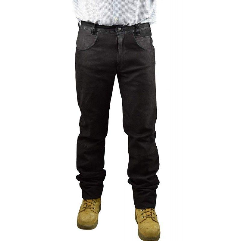 Marron color anti-thorns hunting pants