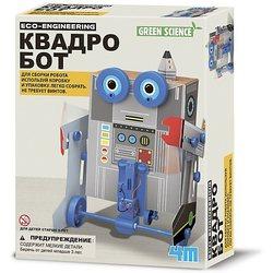 Conjunto para robótica verde ciencia Quadbob