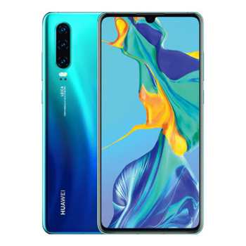 Перейти на Алиэкспресс и купить Huawei P30 6GB/128GB Aurora Blue Dual SIM ELE-L29