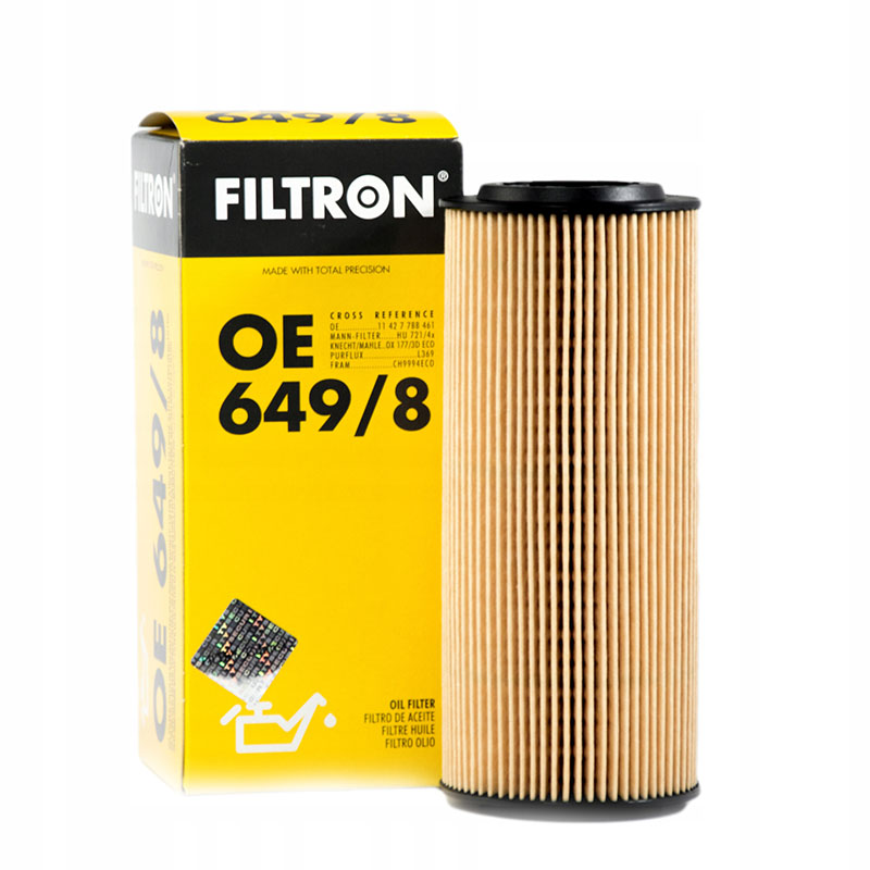 FILTRON OE649/8 For oil filter BMW
