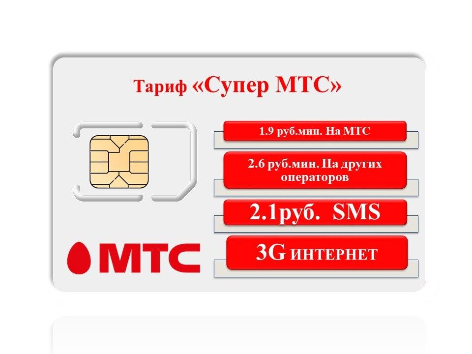 Sim-карта МТС «Super MTS»