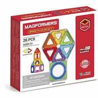 Magnetyczne projektant MAGFORMERS podstawowe Plus 26 zestaw