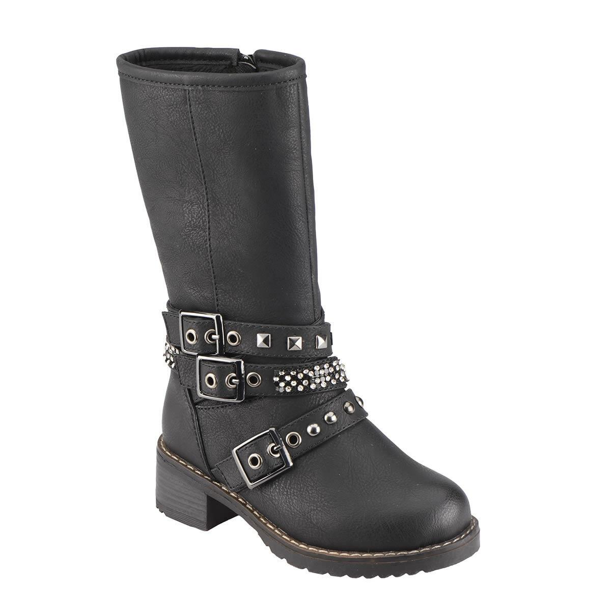 FLO 52.506649.P Black Female Child Boots Polaris