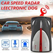 12V Car Radar Detector 16-Band Cobra XRS 9880 Laser Anti Radar VG2 Car Detector 360 Degree Led Display Support English Russian