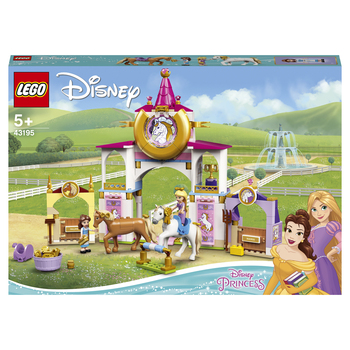 Конструктор LEGO Disney Princess Королевская конюшня Белль и Рапунцель 2