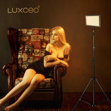 USB Rechargeable Powerbank Video LED Light Professional 9W 1000LUX 4000mAH/7.4V Polymer Battery for Photography