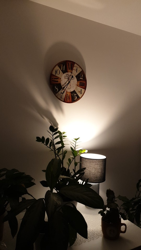 Vintage Wooden Clock Roman Numerals