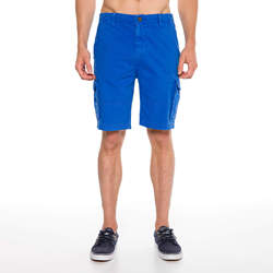Routefield Clints Night Blue Mens Shorts Summer Clothing Casual Cargo Shorts Cotton Male Beach Short Pants Mens Boardshorts