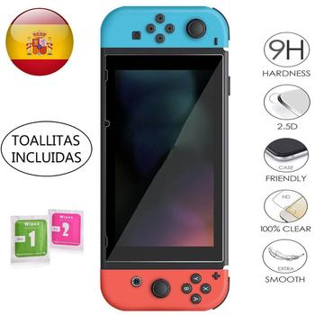 LCD საფარის ეკრანის დამცავი Nintendo Switch ზომიერი მინის 9H 2.5D მინის პრემიუმ 0,3 მმ