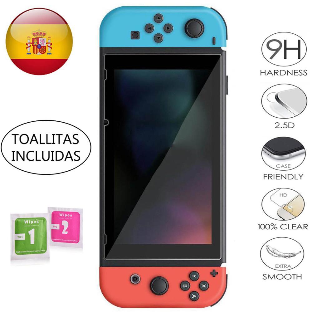 Закаленное стекло для защиты экрана для Nintendo Switch 9H 2.5D Templado Premium 0,3 мм