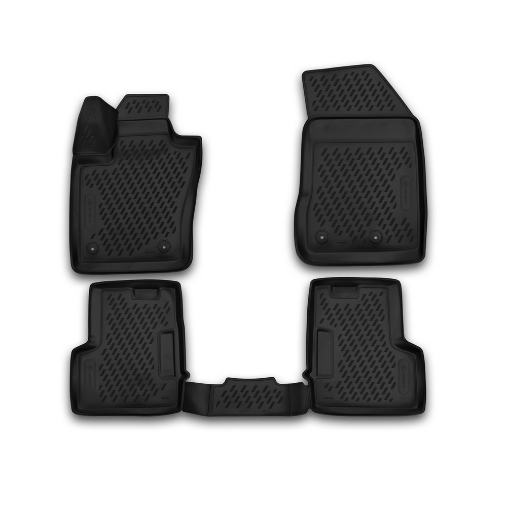 3D Mats In The Interior For JEEP Renegade 2015, 4 PCs CARJEP00013