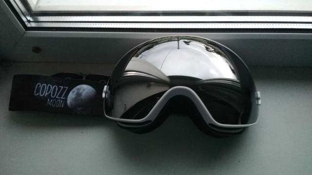 Unisex Anti-Fog Ski Goggles photo review