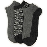 U.S. Polo Assn. Gray Socks 50222724 VR006