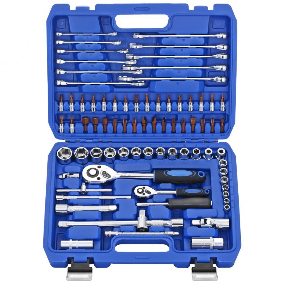 Набор инструментов 78 предметов SATAGOOD B 10078 Наборы ручных инструментов      АлиЭкспресс