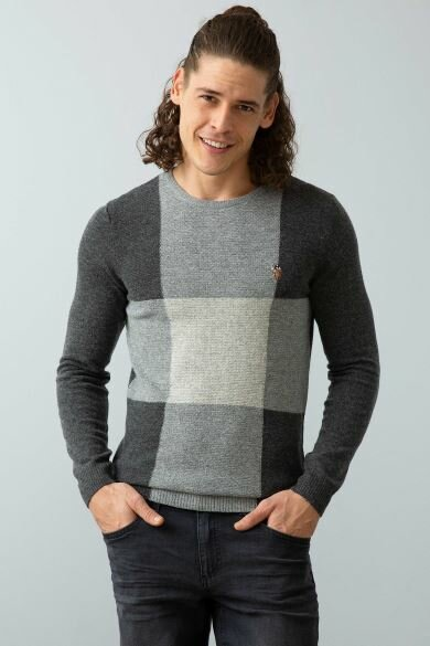 U.S. POLO ASSN. Gray Standard Sweater
