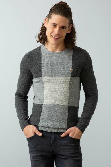 U.S. POLO ASSN. Gray Standard Sweater
