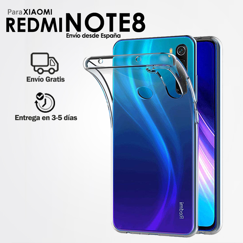 TPU Gel Case Silicone Case for Mobile Xiaomi Redmi Note 8 Back Cover Transparent Ultra Thin Soft for Smartphone