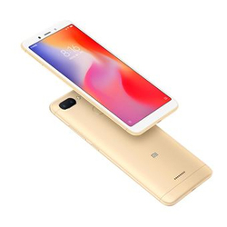 Xiaomi Redmi 6, wersja globalna, zespół 4G/LTE, Dual SIM, 3 twarde GB pamięci RAM, 64 bardzo ciężko GB pamięci wewnętrznej, 3000 mAh, (13,8 cm (spodnie 2