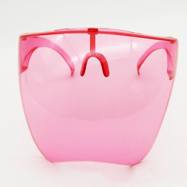 Men's Women's Faceshield Protective Glasses Goggles Safety Glasses Anti-Spray Mask Protective Goggle Glass Sunglasses 15