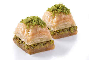 Dessert Baklava with Pistachio Sweet 3-Days By/dhl Gulluoglu-Turkish 1kg Long-Lasting