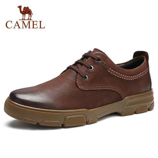 New Top Genuine Leather Mens Shoes Men Business Trend Light Comfortable Matte Texture Wear resistant Anti slip Casual Shoes