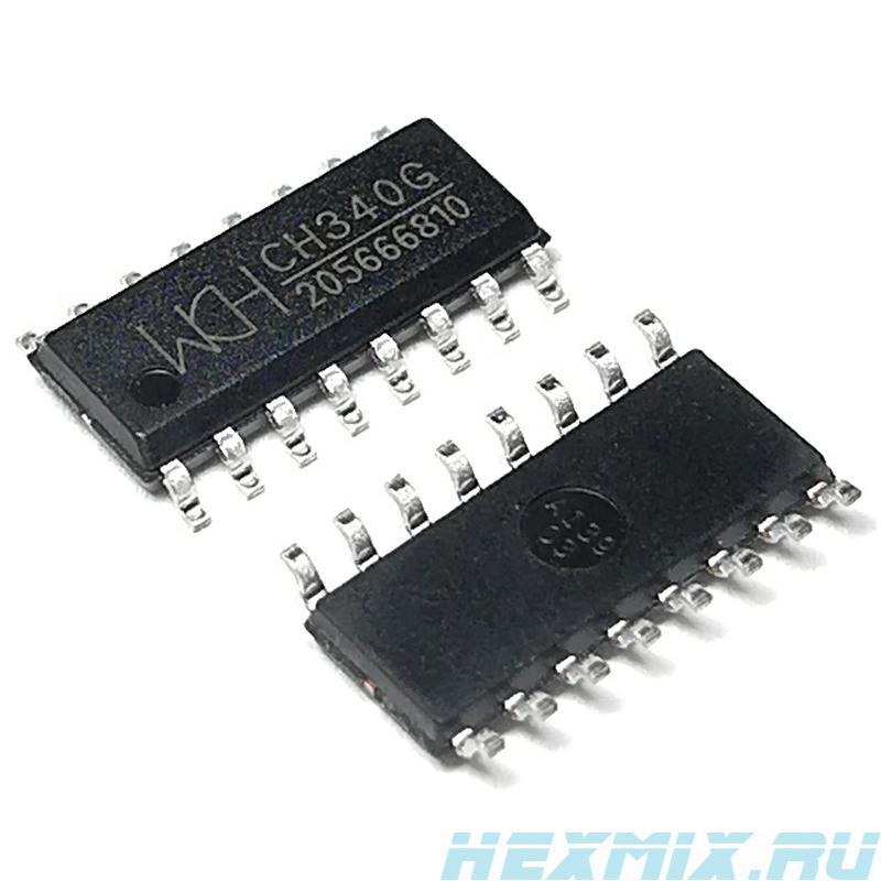 Ch340g USB To UART Interface Sop-16-3 PCs