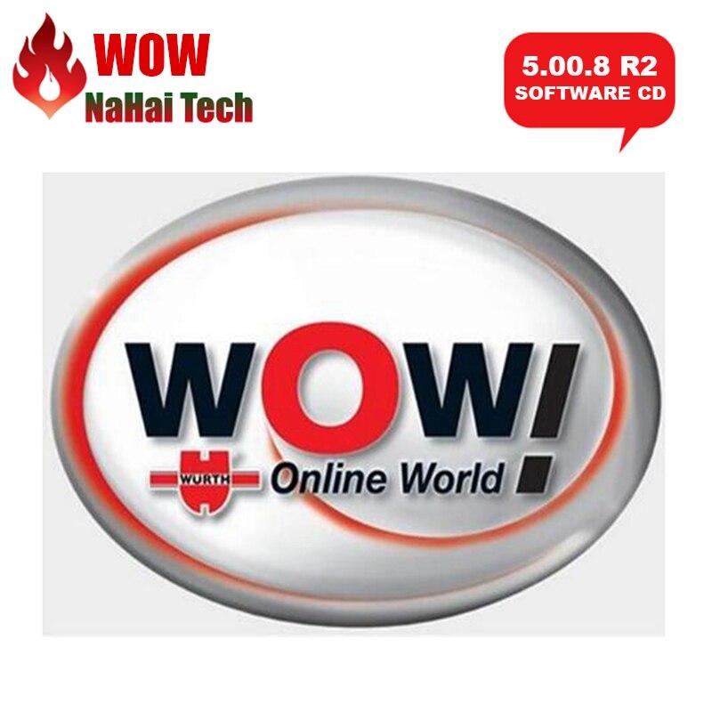 Mais recente wurth wow 5.00.8 r2 software multilíngue com keygen livre para vd tcs pro delphis 150e multidiag carros e caminhões|Leitores de código & Ferramentas de Verificação|   -