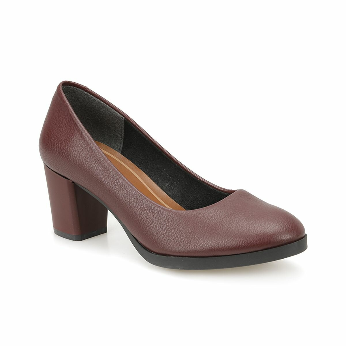FLO 82.312121.Z Burgundy Women 'S Heels Shoes Polaris