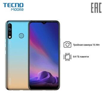 """Смартфон TECNO CC7 CAMON 12, 16,51 см (6.5"""") 1560 x 720, 2.0GHz, 4+4 Core, 4GB RAM, 64GB, 16 МП+8 МП+2 МП/16Mpix, 2 Sim"""