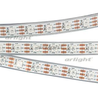 022185 Ribbon SPI-5000P-AM 5V RGB 5060 300 LED X1, 2812) [Closed, IP66] Катушка-5. ARLIGHT-Светодиодная Ribbon/Ribbons ^ 46