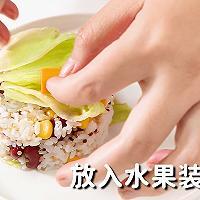 玉米杂粮饭的做法,小兔奔跑轻食简餐教程的做法图解14