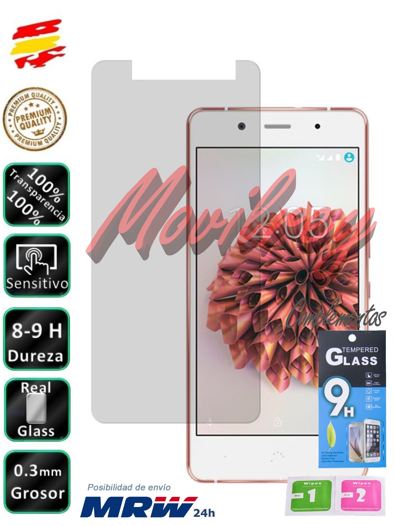 Patronizing BQ Aquaris X5 Plus Tempered Glass Screen Mobile