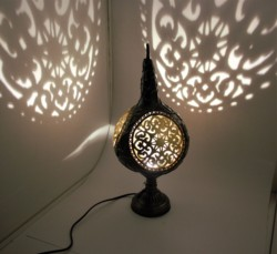 Ottoman style Lampshad Night Lamp High Quality Material Gourd table Handmade cover desk lights for bedroom study homereading