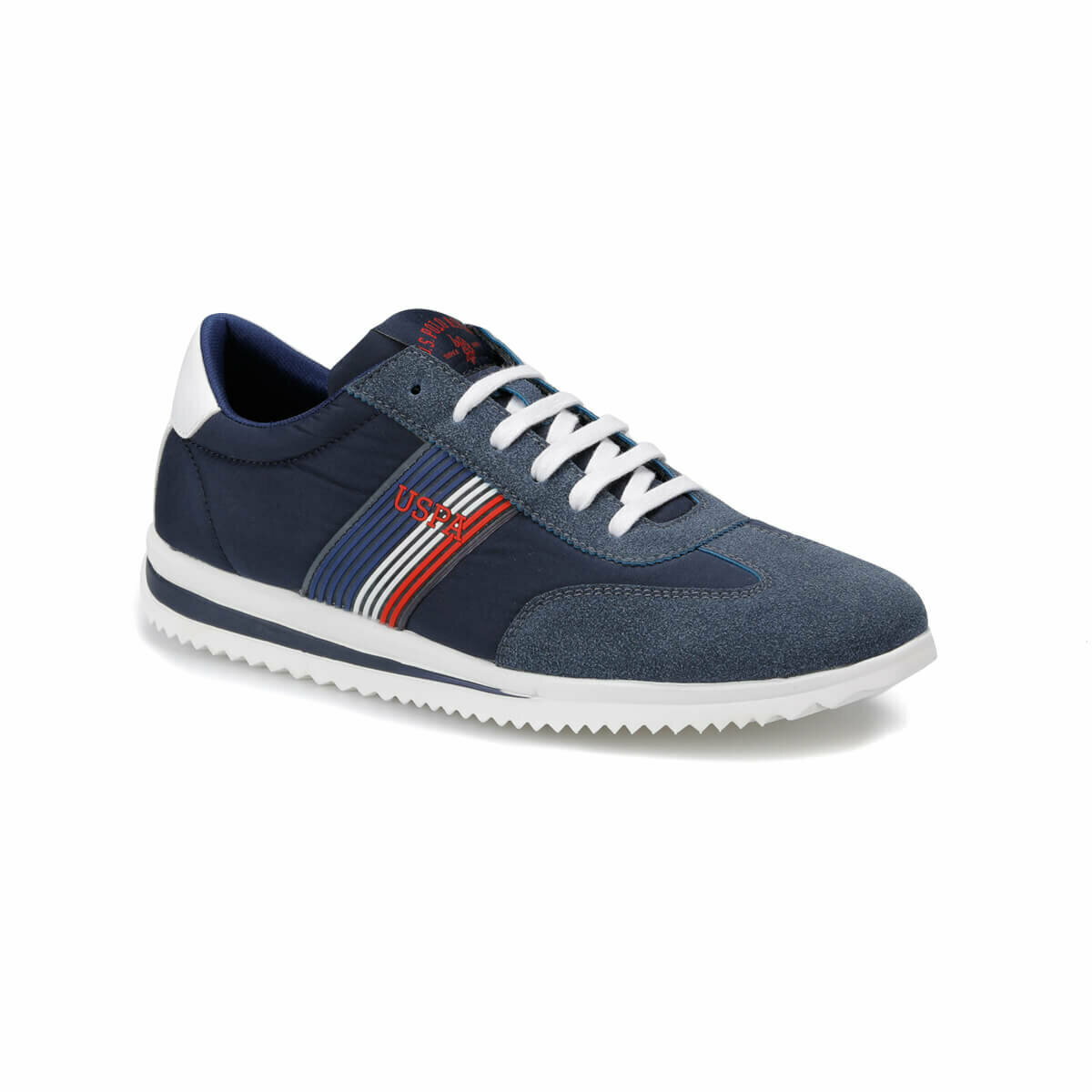 FLO COSTA Navy Blue Men 'S Sneaker Shoes U.S. POLO ASSN.