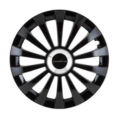 Game Hubcap Good Year Flexo 40 Black 15""