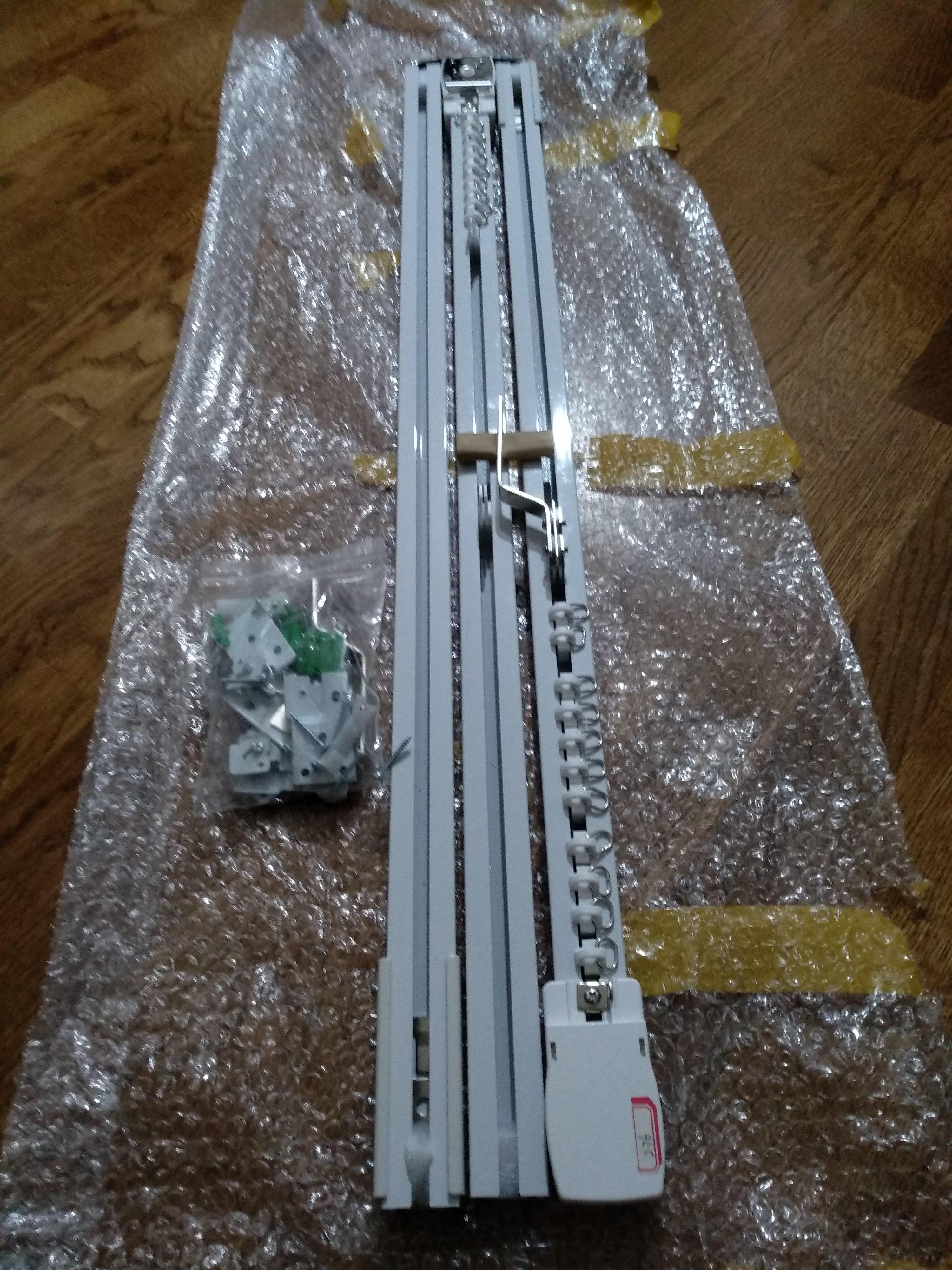 Sistema automático de controle de cortina Trilhos Cortina Sistema