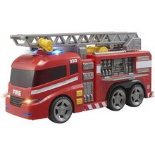 TEAMSTERZ toy fire truck with ladder, grua, lights and sounds, scale trucks, gifts Kids