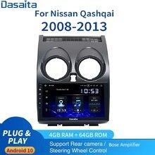 "Dasaita PX6 9"" 1din Android Car Autoradio for Nissan Qashqai Multimedia j10 j11 2008 2009 2010 2011 2012 2013 SWC  Camera Bose"