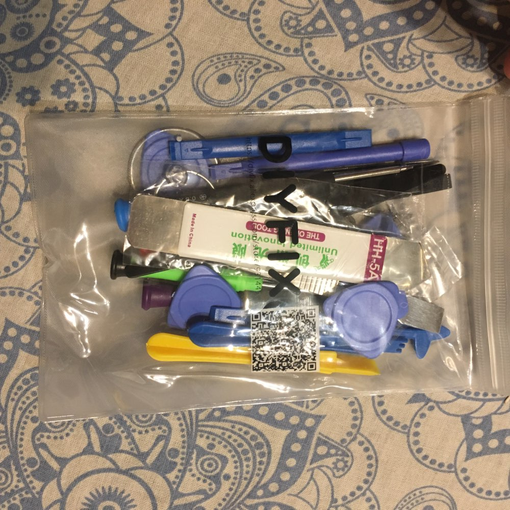 DIYFIX 21 in 1 Mobile Phone Repair Tools Kit Spudger Pry Opening Tool Screwdriver Set for iPhone X 8 7 6S 6 Plus Hand Tools Set|kit spudger|tool sethand tool set - AliExpress