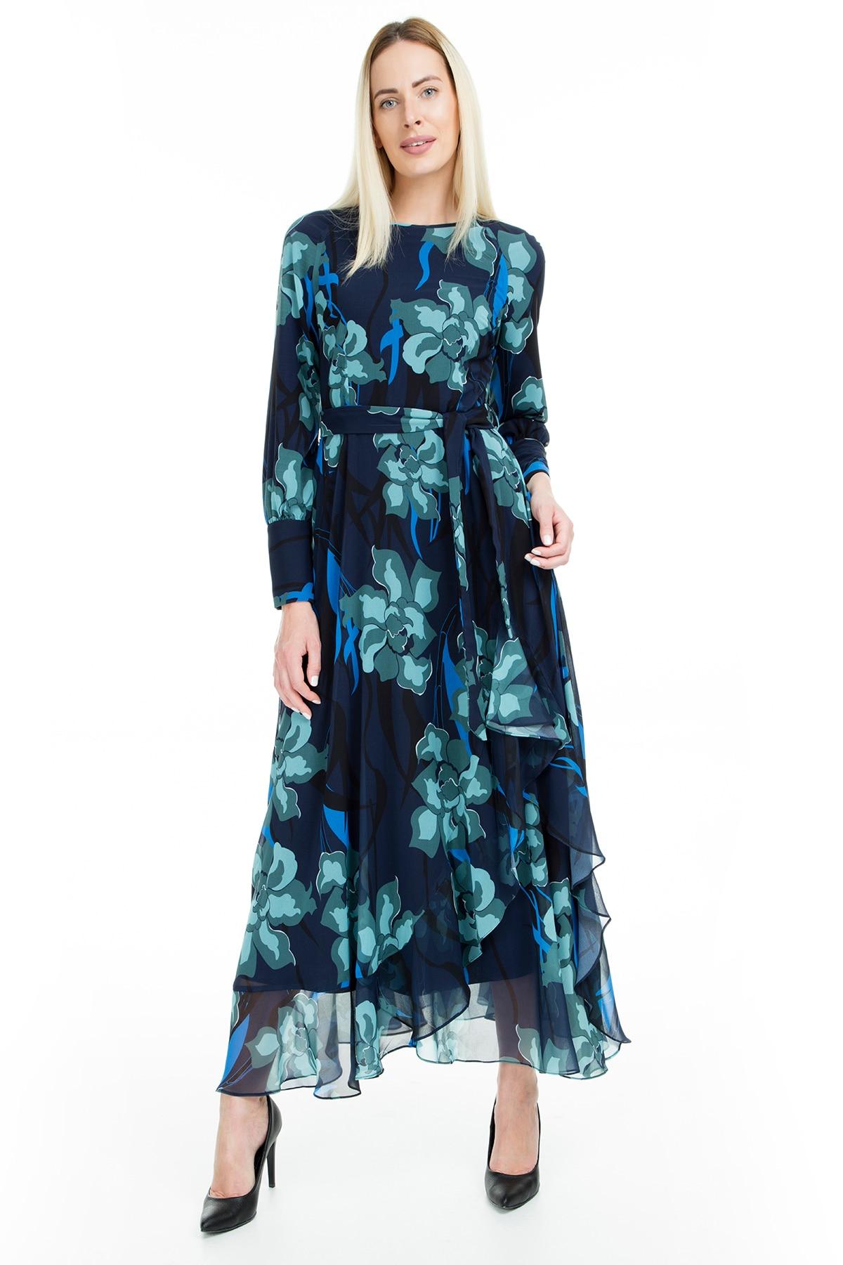Via Dante Flower Print Dress WOMEN DRESS 1033555VD