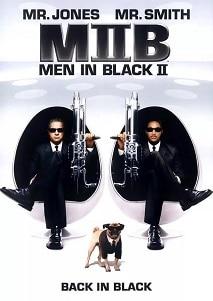 黑衣人2海報