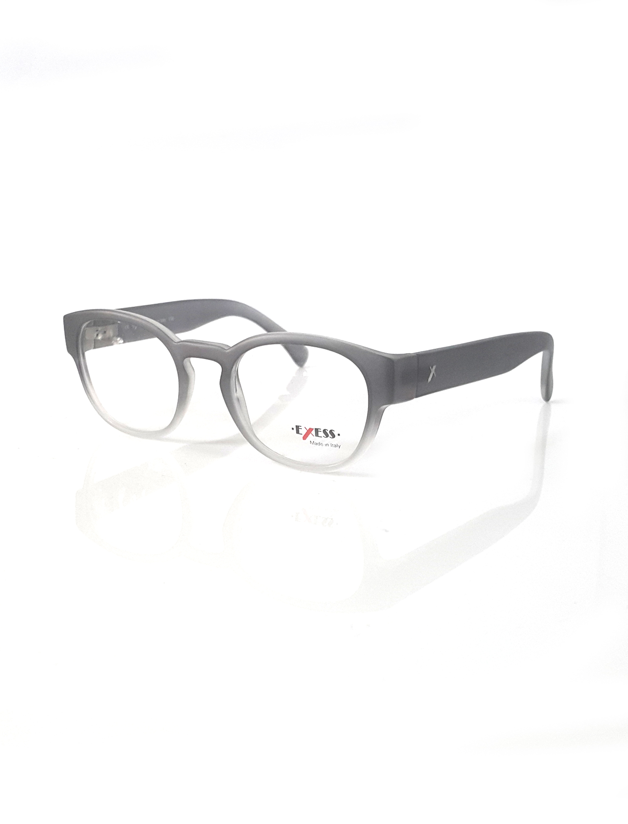 Markamilla Unisex Reading Glasses Frame Demo Glasses Eyewear Transparent High Quality Women MenExess E 303 9075 49