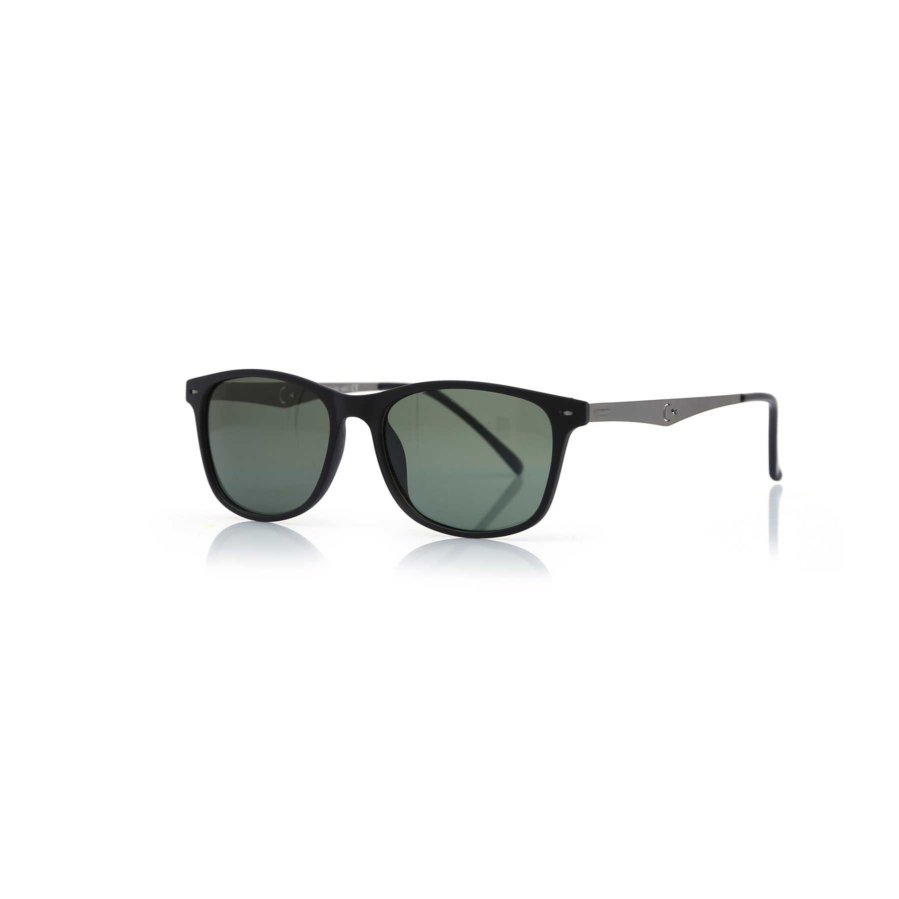 Unisex sunglasses sw 176 03 bone black organic square square 53-17-140 swing